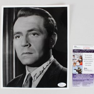 Casablanca - Paul Henreid Signed 8x10 Photo - COA JSA