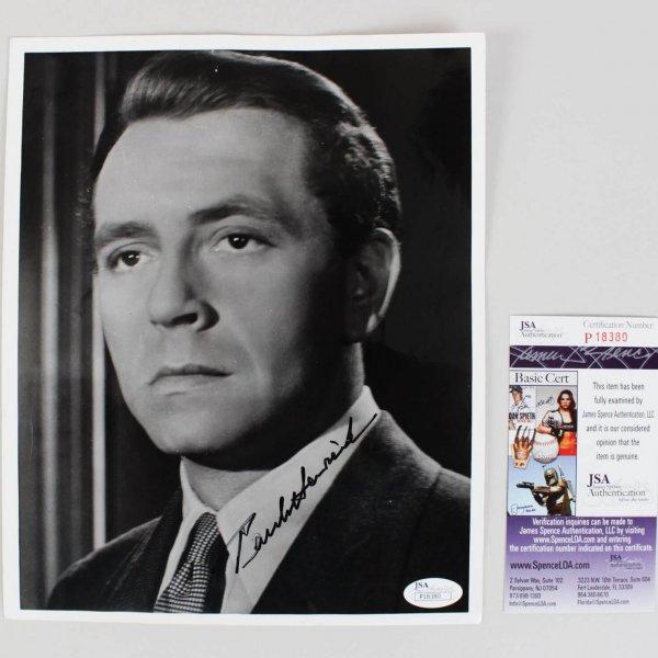 Casablanca - Paul Henreid Signed 8x10 Photo - COA JSA