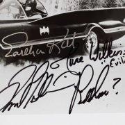 Batman TV Series Signed 8x10 Photo - Kitt, Gorshin, Carney, Wilkinson- COA JSA