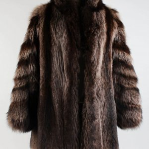 Dr. Feel Good Tour Motley Crue - Sharise Neil Worn Racoon Fur Coat (Provenance LOA)