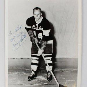 Boston Bruins - Kenneth Smith Signed 8x10 Photo (COA)