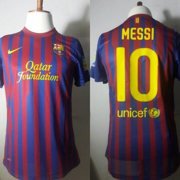 A Neymar Game-Used Unwashed #11 FC Barcelona Home Shirt 10/17/2015 LaLiga vs Rayo Vallecano