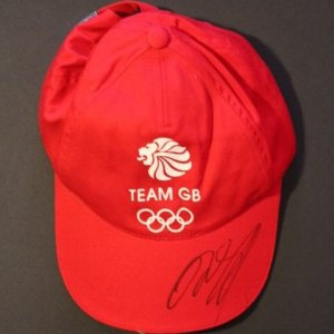 A Ryan Giggs Signed Team Great Britain Adidas Hat.  2012 London Olympic Games.