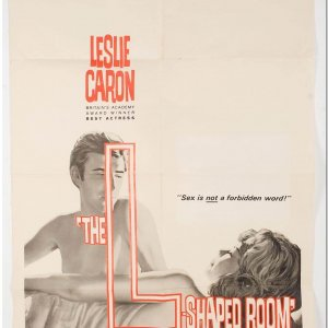 "1963 ""The L Shaped Room"" Original Movie Poster"