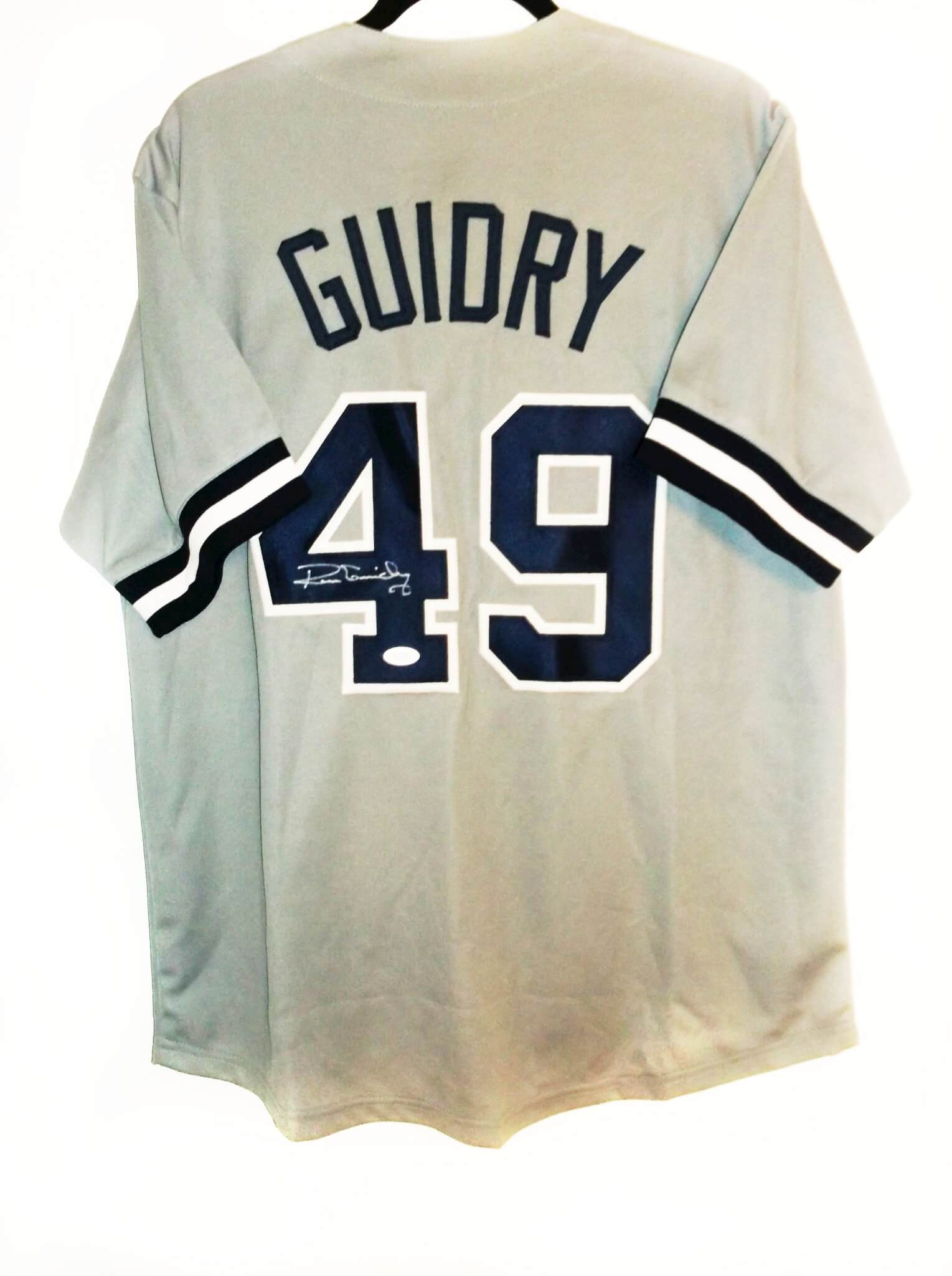 New York Yankees Ron Guidry signed Jersey - Memorabilia Expert 16ed5ea7382