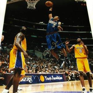 Philadelphia 76ers Allen Iverson Signed 16x20 Photo