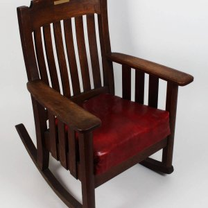 1960s Boston Red Sox - Ted Williams Boys Club Rocking Chair