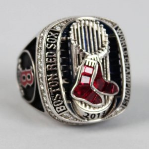 2013 Boston Red Sox World Series Championship Ring- Aly Gonzalez (Coach) feat. 126 Diamonds w/Original Box (Jostens COA, Jeweler Appraisal & Player LOA)