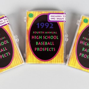 1992 Little Sun High School Baseball Prospects Cards Sets Lot of (3) - Incl. Derek Jeter (Sealed)