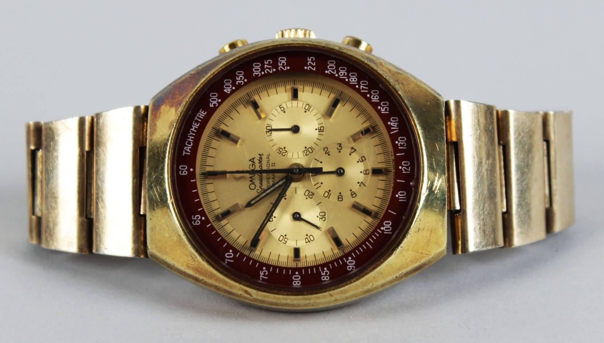 1971 Super Rare Omega Speedmaster Mark II Watch