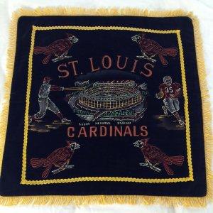 1960 Cardinal pillow case