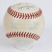 1949 AL All-Star Team Signed OAL (Harridge) Baseball 18 Sigs. - JSA