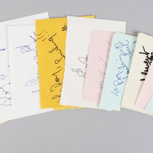 Modern Day Movie Star Signed Lot (10) Vintage Album Page Cuts - JSA