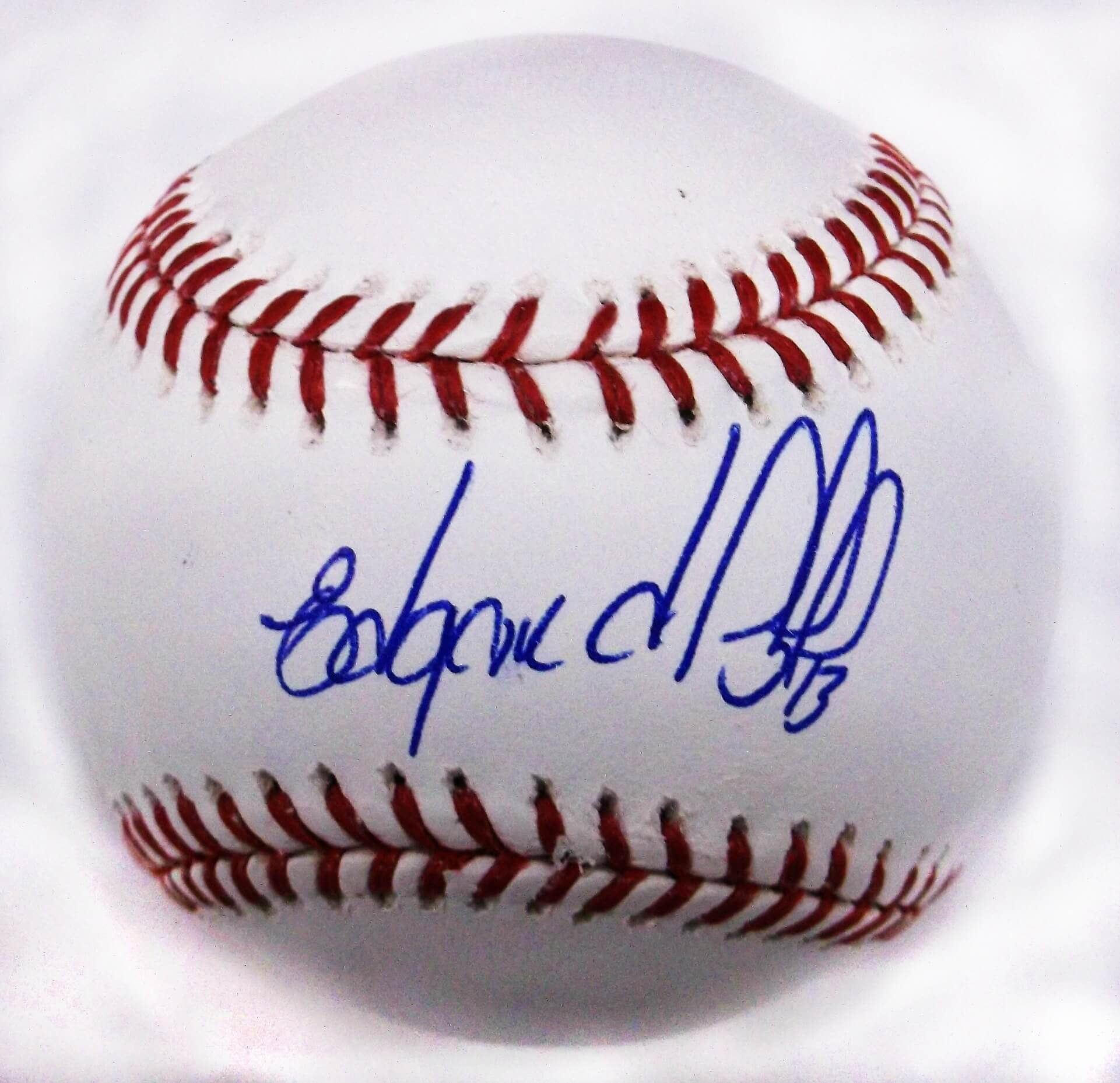 New York Mets Edgardo Alfonzo Signed Rawlings Official Game Ball