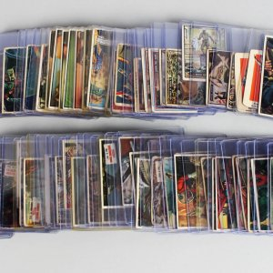 Mega 1930s-50s Non Sport Trading 74 Card Lot - G-Men, T.V. & Radio Stars, Scoops, Presidents, War, Sky Birds, Wheaties etc.