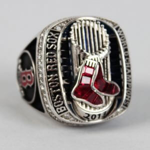 boston red sox world series ring