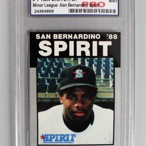 1988 Best Platinum - San Bernardino Spirit - Ken Griffey. Jr. Rookie Card (#1)