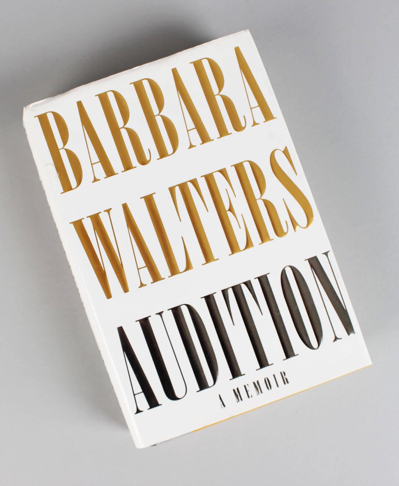 Barbara Walters Signed Audition A Memoir Book (COA)57350_01