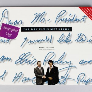 "The Day Elvis Met Nixon Signed by Author Egil ""Bud"" Krogh (COA)"