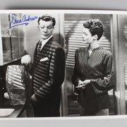 Actors Lot - Dana Andrews, Robert Stack & (2) Lauren Bacall Signed 8x10 Photos (JSA)