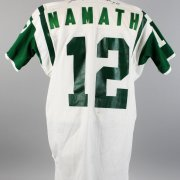 New York Jets - Joe Namath Game-Worn, Signed White Jersey (JSA)