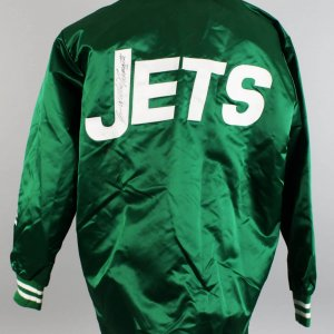 1969 New York Jets - Joe Namath Game-Worn, Signed Jacket from Super Bowl Season (JSA)