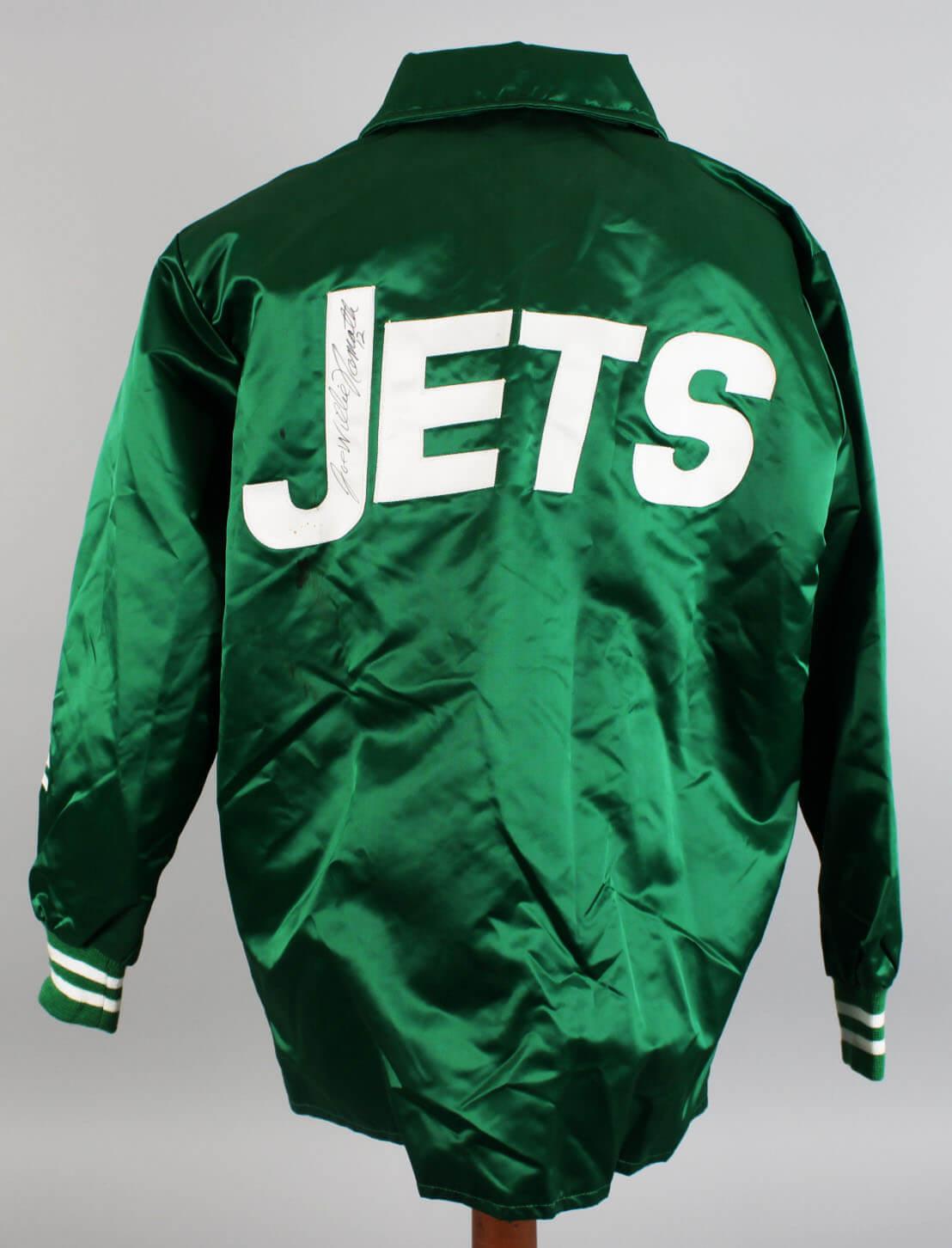 1969 New York Jets – Joe Namath Game-Worn, Signed Jacket from Super Bowl Season (JSA)57420_01