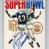 January 12, 1969 Super Bowl III - New York Jets vs. Baltimore Colts Program Signed & Insc. by Joe Willie Namath (JSA)
