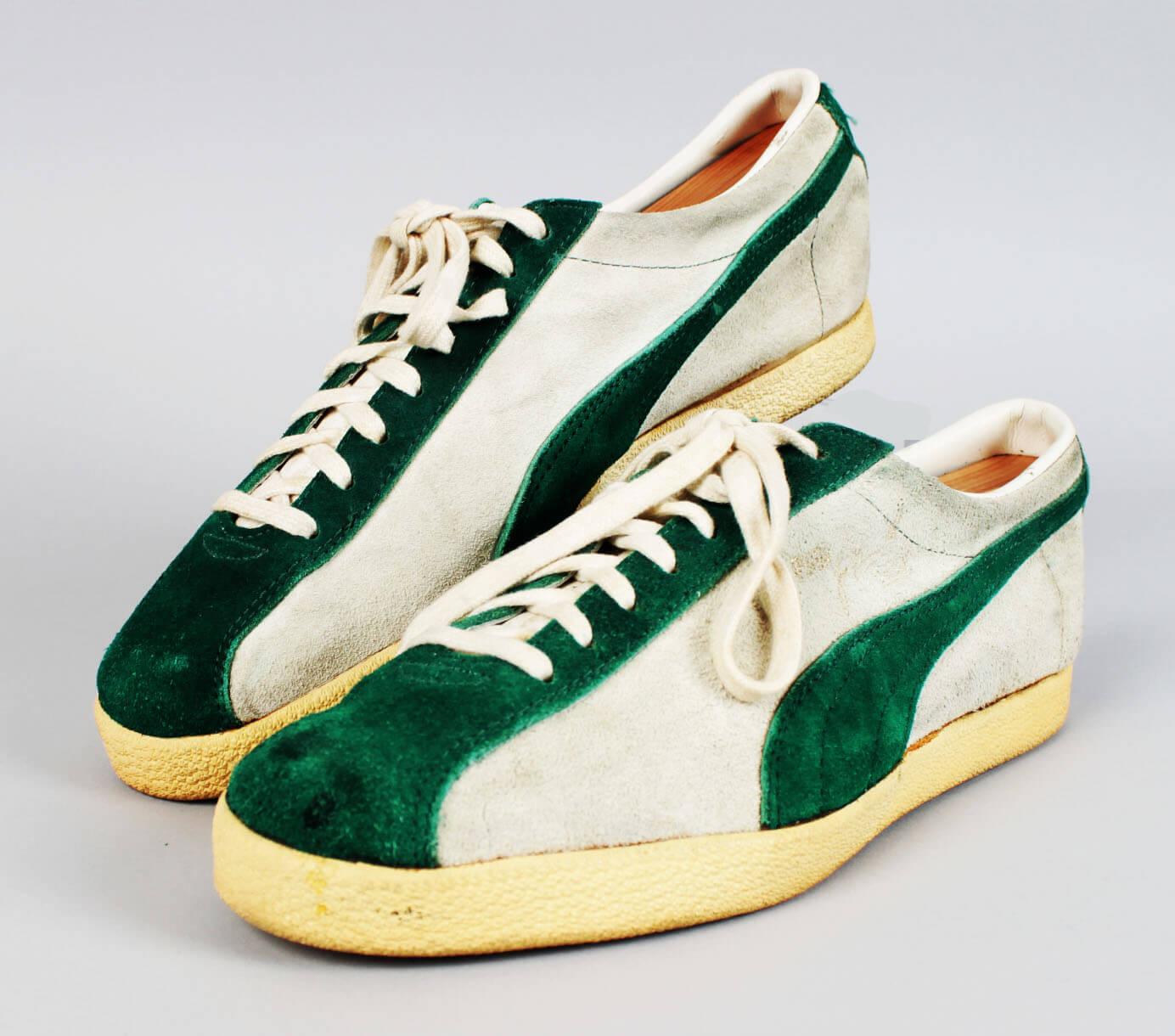 Vintage New York Jets – Joe Namath Custom Worn Walking Sneakers Shoes57599_01