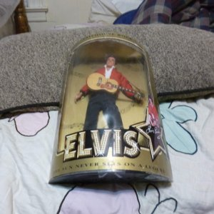 VINTAGE ELVIS PRESLEY DOLL IN ORIGINAL BOX UNOPENED