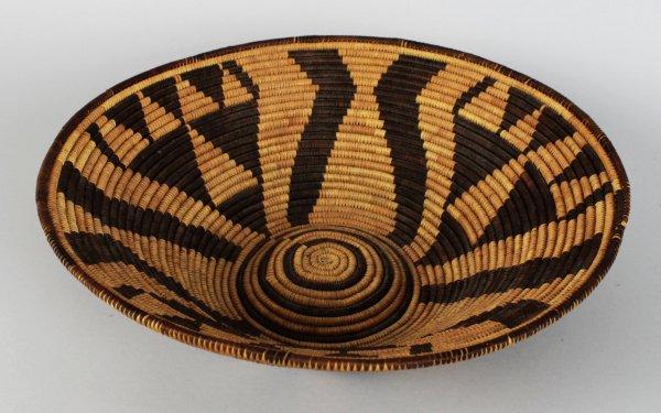 Pima Native Indian Weaved Bowl Basket