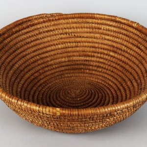 Shoshone Native Indian Bowl Large Weaved Basket
