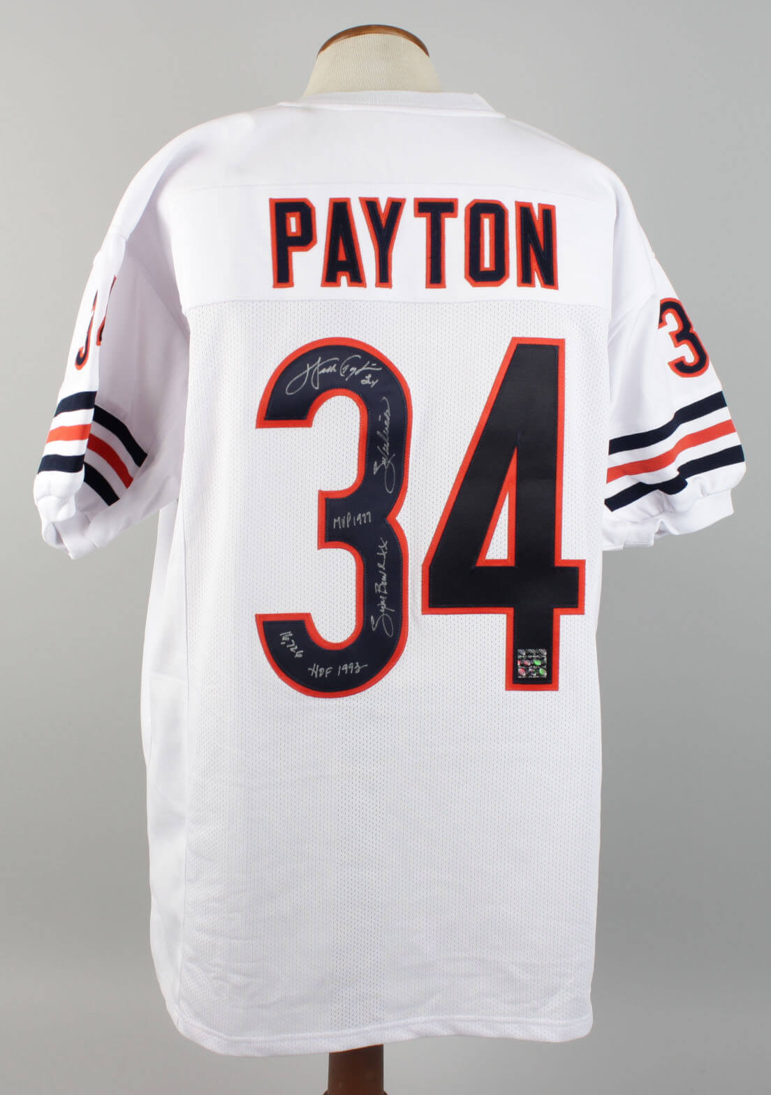 finest selection 011ca 9dce1 Chicago Bears - Walter Payton Signed & Inscribed Jersey - PSA/DNA Full LOA