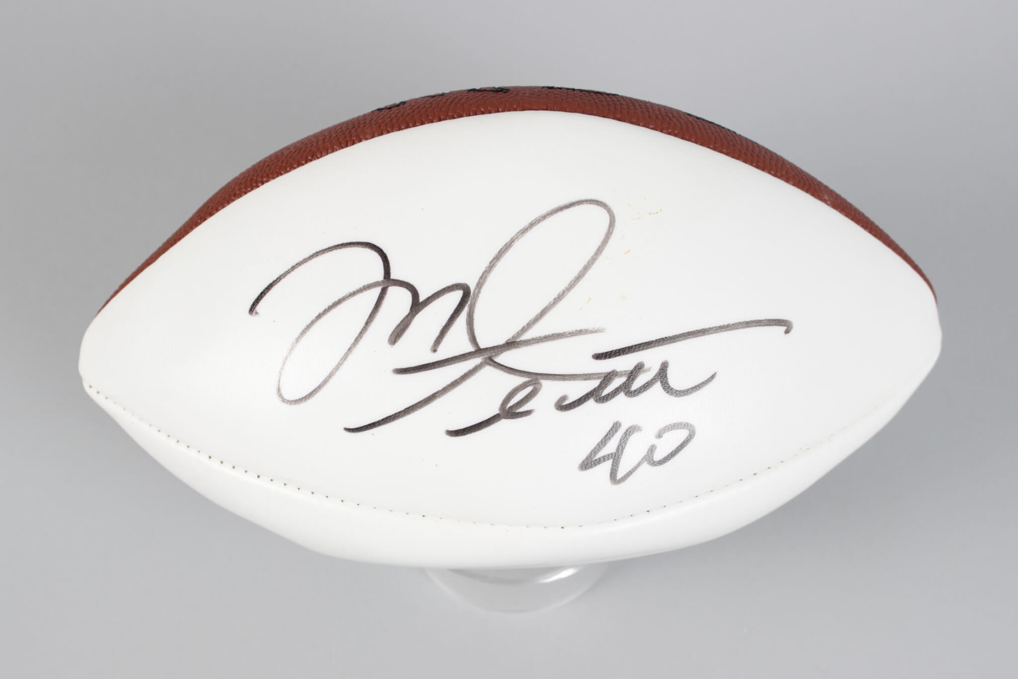 newest collection f1d09 409bc Tampa Bay Bucs - Mike Alstott Signed & Inscribed