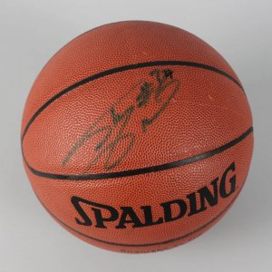 Los Angeles Lakers - Shaquille O'Neal Signed Basketball - COA JSA
