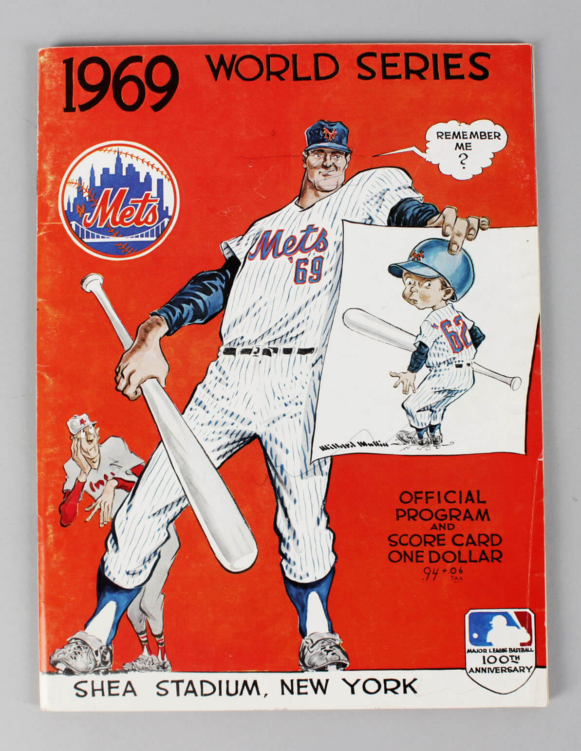 1969 Mets World Series Program (w/Game 3 Ticket Stub – Nolan Ryan's only W.S. Appearance)59185_01