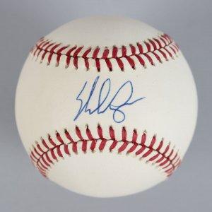 Texas Rangers - Nolan Ryan Signed OAL Baseball - COA JSA