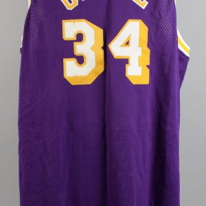 Los Angeles Lakers - Shaquille O'Neal Game-Worn Jersey