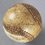 Lou Gehrig Game-Used, Signed 1936 WS Homerun Baseball - JSA Full LOA