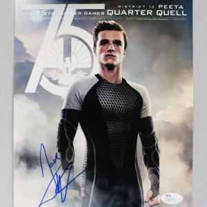 Hunger Games Actor Josh Hutcherson Signed Autographed 8x10 Photo (COA JSA)