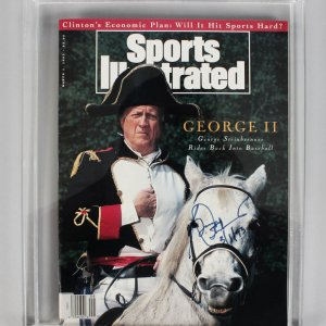 George Steinbrenner New York Yankees Signed & Dated 3/1/93 Sports Illustrated Magazine - JSA
