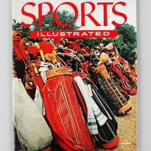 August 25, 1954 Sports Illustrated Second Weekly Issue Magazine