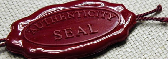 authenticationseal