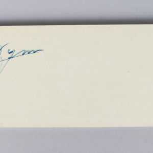 "Early Wynn Cleveland Indians Signed & Inscribed 7-13-63 ""300"" Pitching Rubber- JSA"
