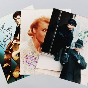 Munsters & Green Hornet Signed 11x14 Photos (3) - Van Williams, Butch Patrick & Pat Priest - JSA