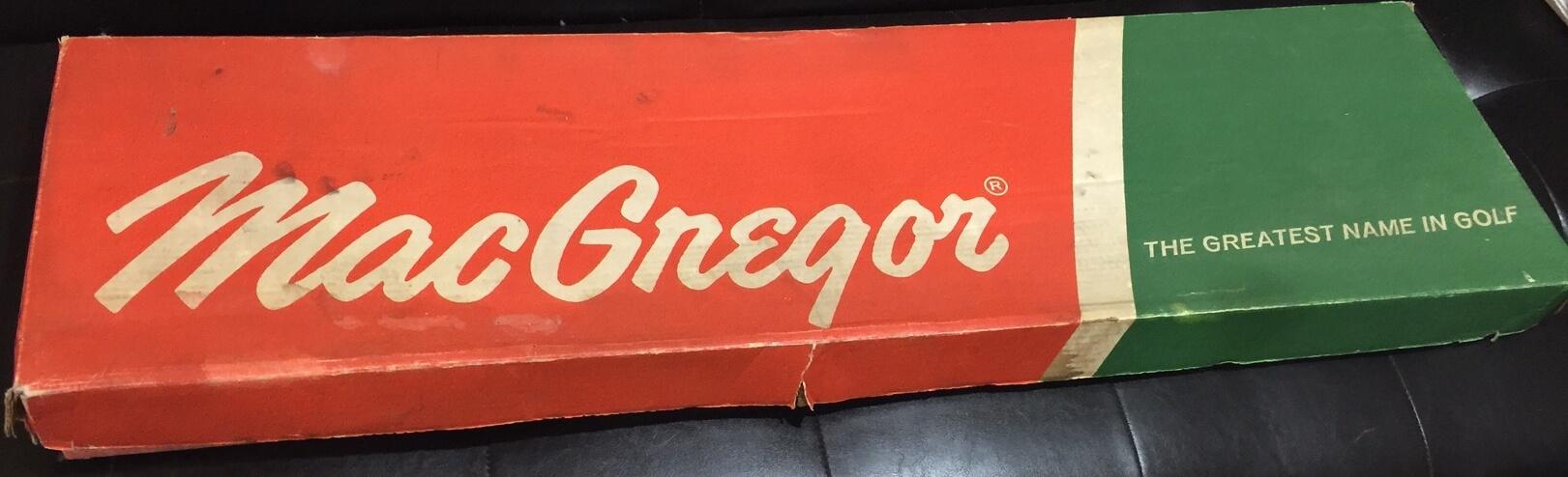 1970's MacGregor Vintage Set of Golf Club Irons,Nicklaus Series 80, in Original Box