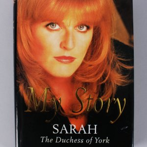 "The Duchess of York With Jeff Coplon - Sarah Signed ""My Story"" Book - COA JSA"
