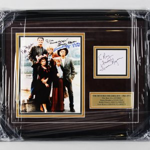 The Beverly Hillbillies (Full Cast) Signed 16x20 Photo Display - JSA