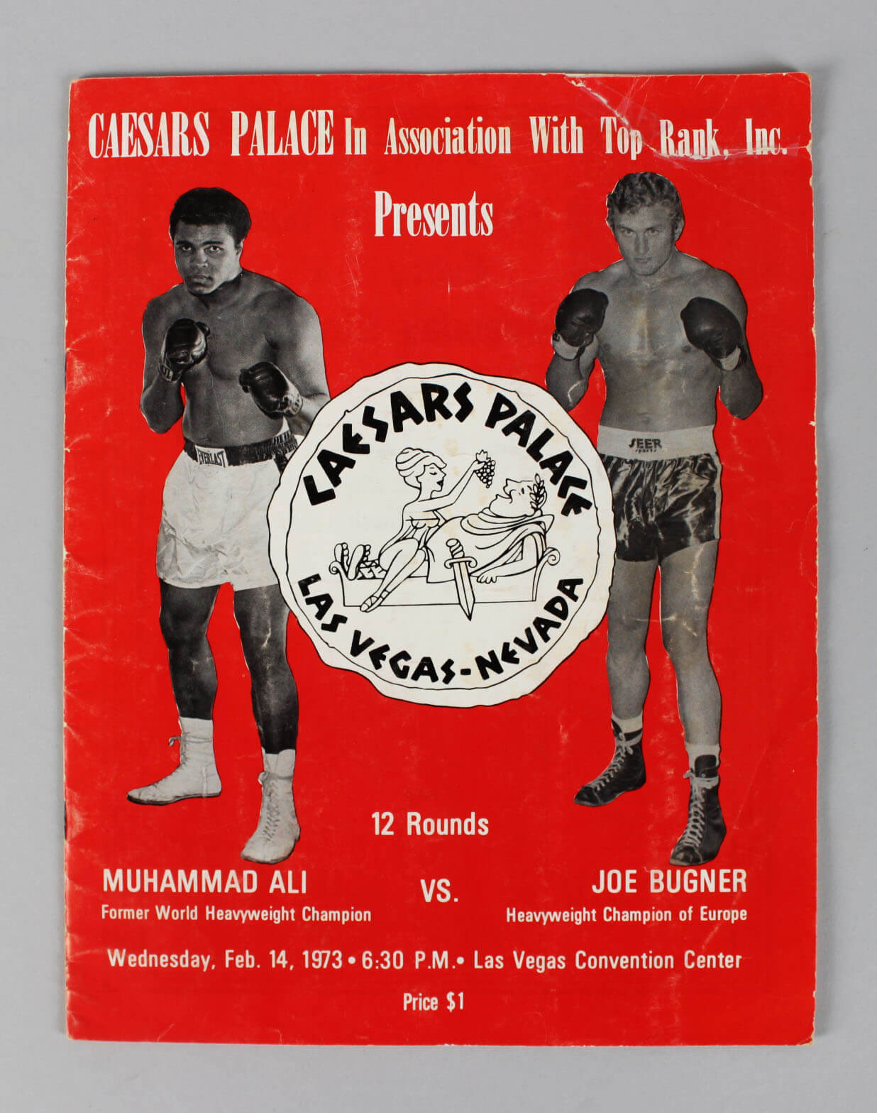 Caesars Palace Boxing – Feb. 14, 1973 – Muhammad Ali vs. Joe Bugner Fight Program61102_01