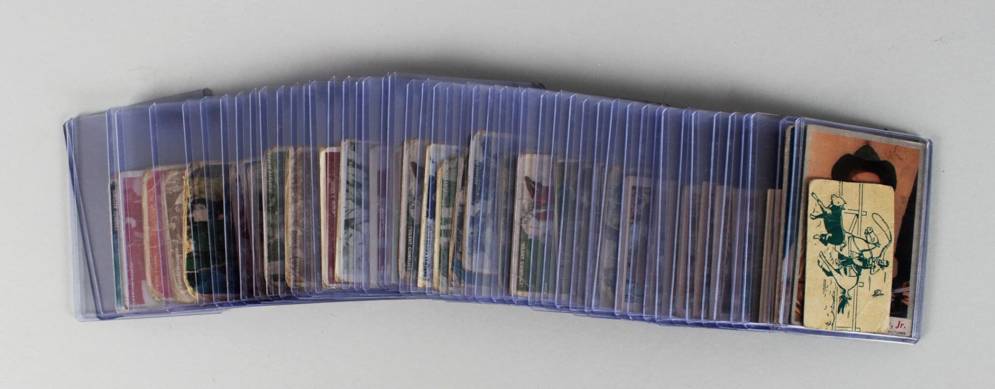 Vintage Non-Sport Western TV Show 50+ Card Lot Incl. Hopalong Cassidy